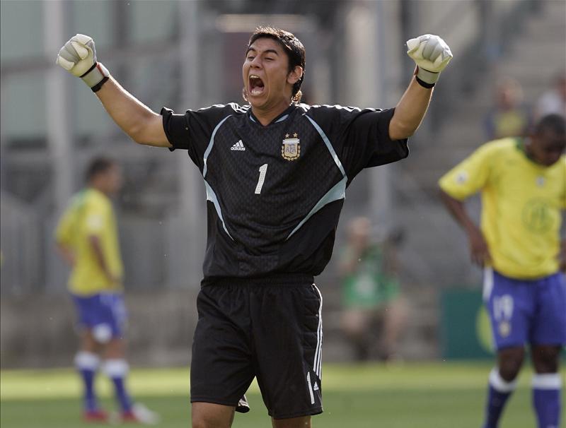 Oscar Ustari Argentina
