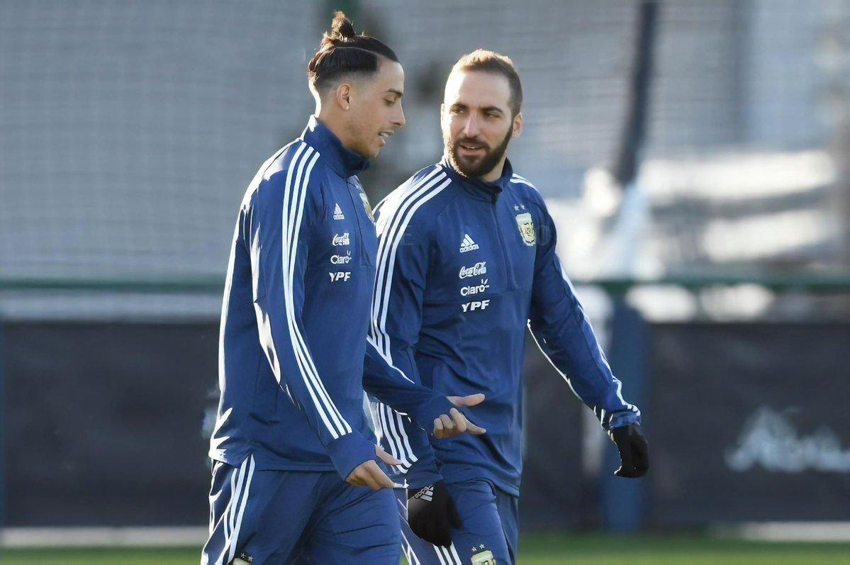 Argentina squad Ramiro Funes Mori Gonzalo Higuain