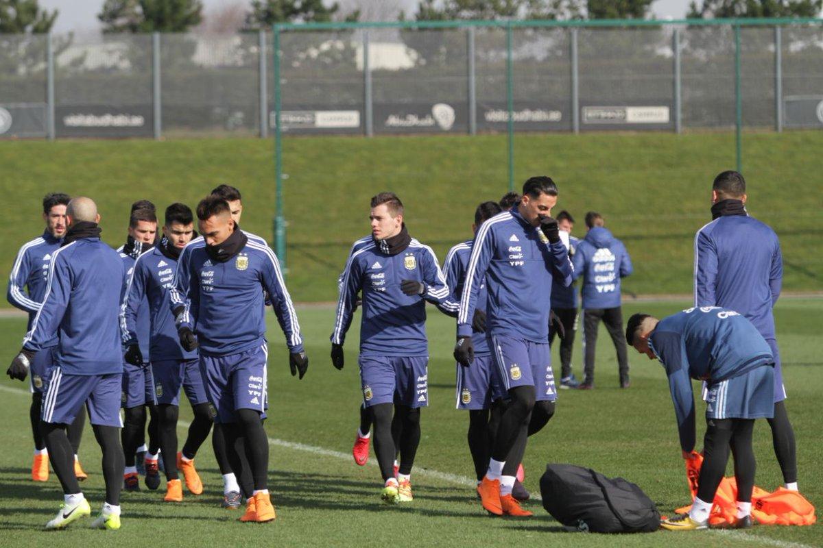 Argentina training
