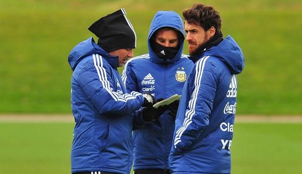 Pablo Aimar Argentina coaching staff