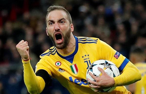 Gonzalo Higuain Argentina return Juventus