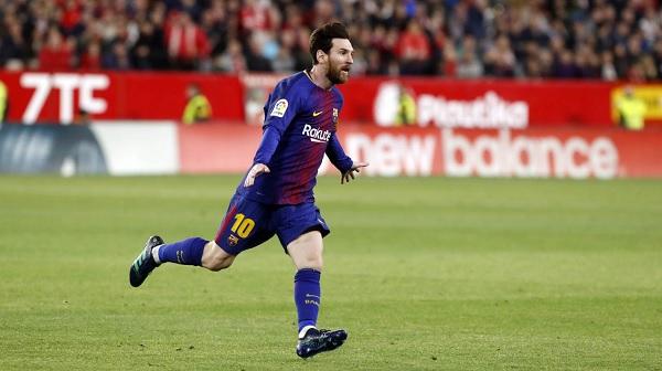 Lionel Messi saves Barcelona Sevilla La Liga