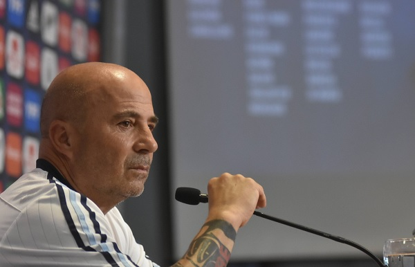 Jorge Sampaoli's press conference Argentina