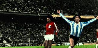 Mario Kempes Argentina Peru