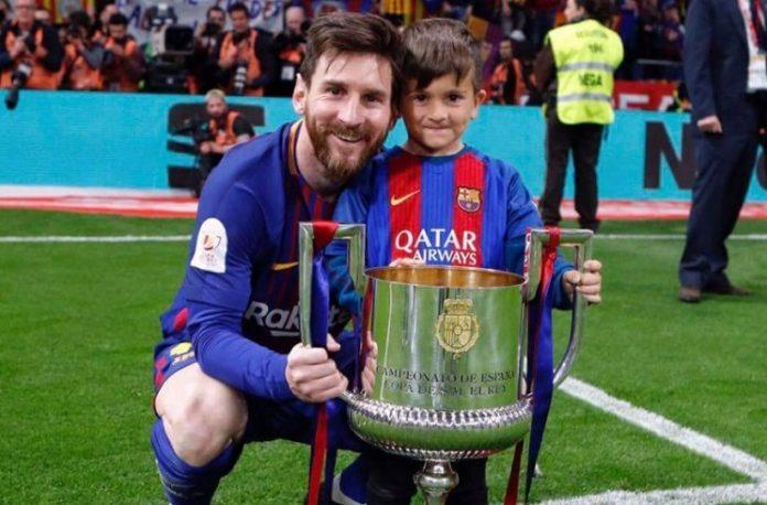 Lionel Messi FC Barcelona Copa del Rey