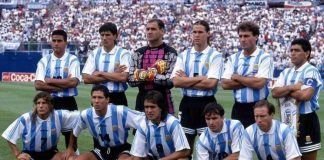 Argentina 1994 World Cup team