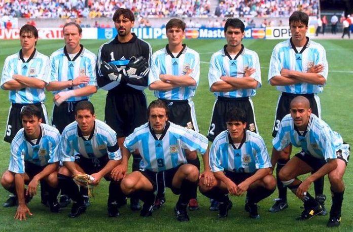 Argentina 1998 team