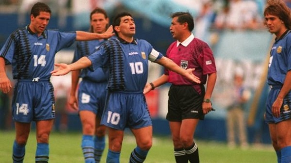 Simeone Redondo Maradona Batistuta
