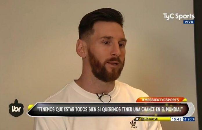 Lionel Messi interview