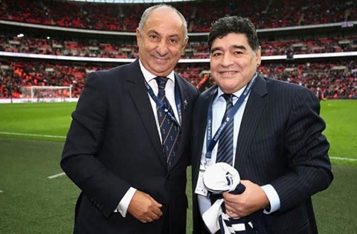 Osvaldo Ardiles Diego Maradona