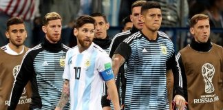 Argentina players