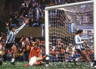 Mario Kempes Argentina World Cup