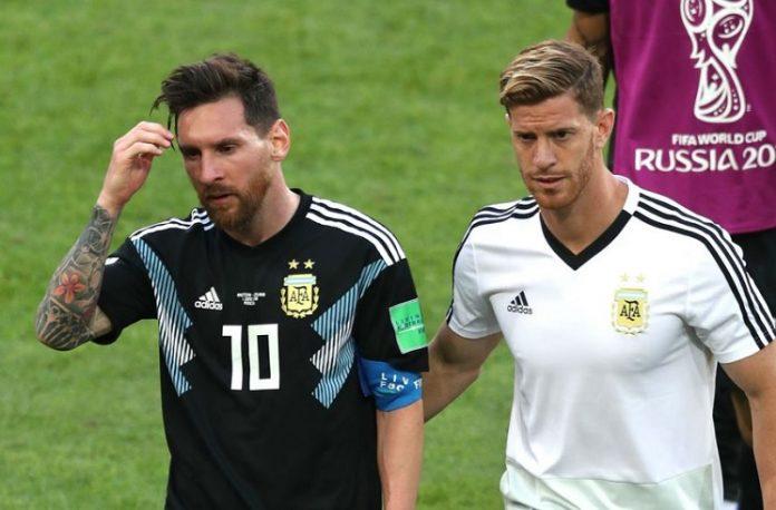 Lionel Messi Cristian Ansaldi