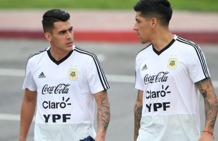 Cristian Pavon Enzo Perez Argentina