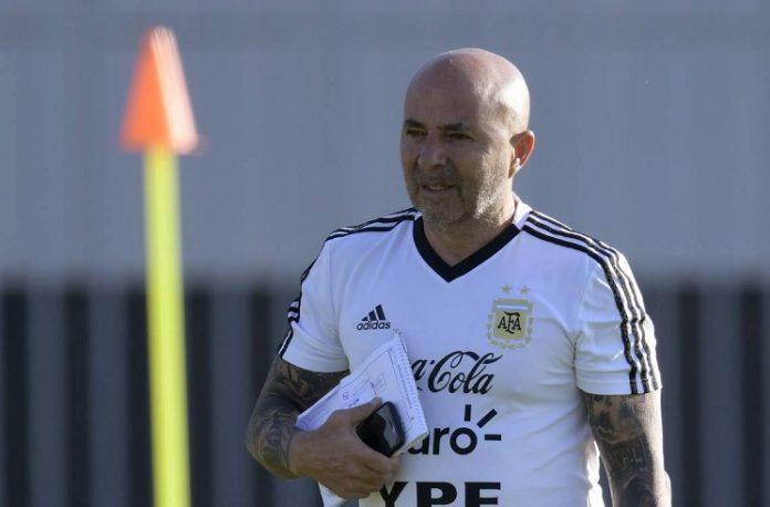 Argentina coach Jorge Sampaoli