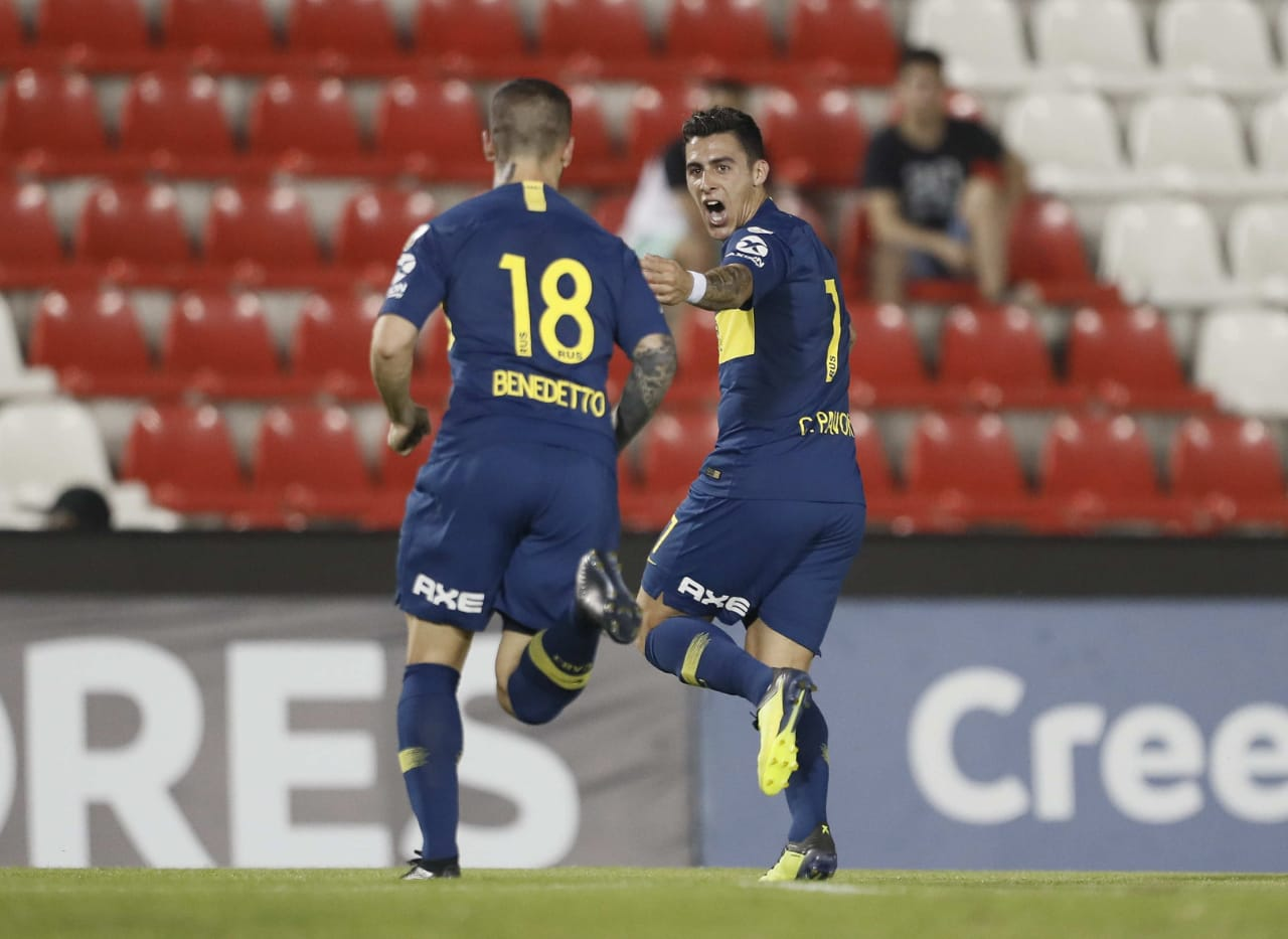 cheap for discount 955a1 3113d Cristian PAVON, Carlos TEVEZ score for Boca Juniors in Copa ...