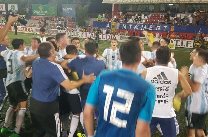 Argentina win COTIF