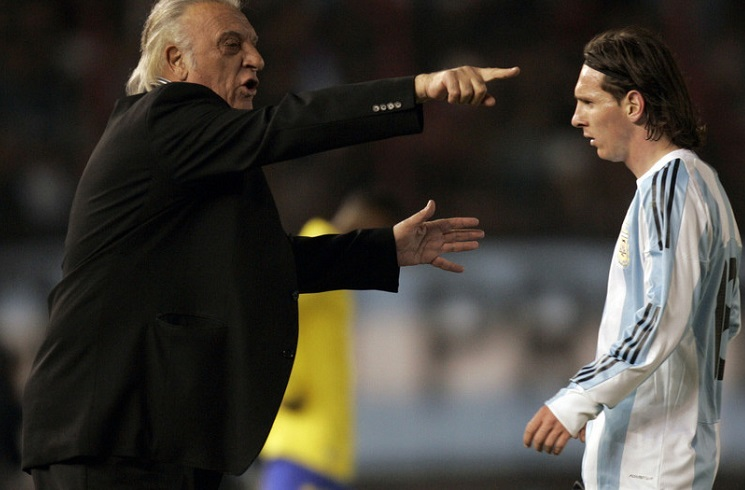 Former Argentina coach Alfio BASILE comments on Lionel MESSI, new ...