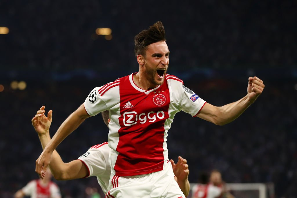 Ajax, Champions League, Tagliafico