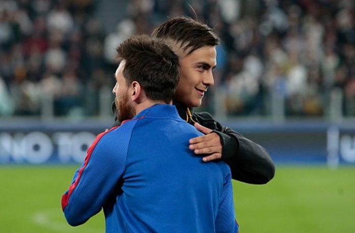 Paulo Dybala Lionel Messi