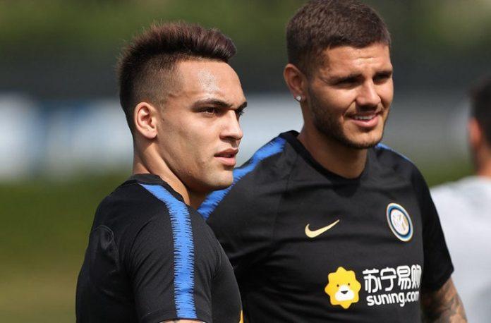 Lautaro Martinez Mauro Icardi Inter
