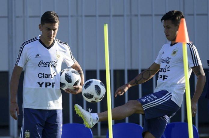 Paulo Dybala Maxi Meza Argentina