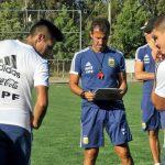 Argentina U20 training