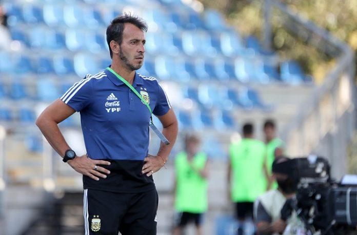 Argentina U20 coach Fernando Batista
