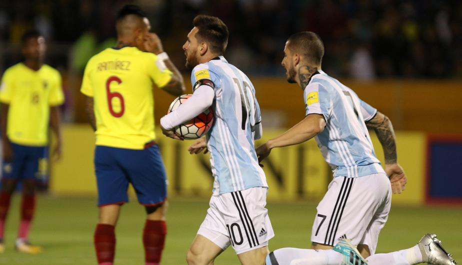 Argentina To Play Ecuador In October Following Germany Game Mundo Albiceleste