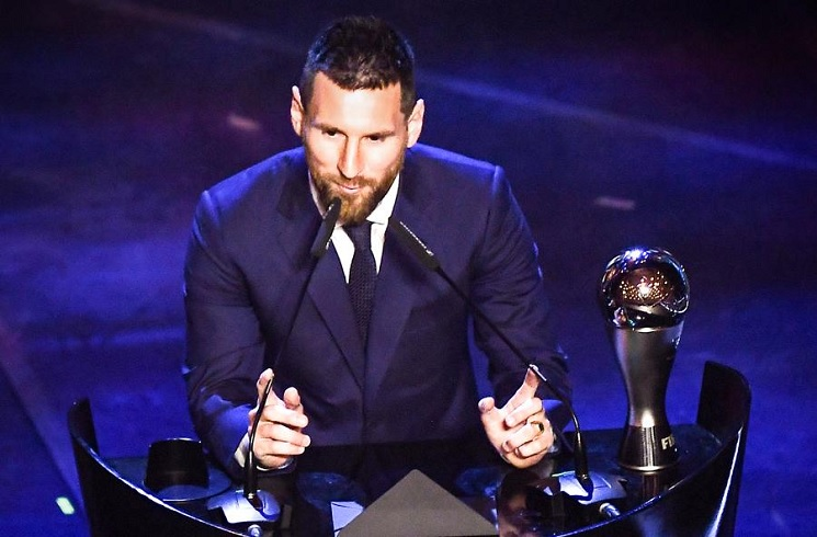 Lionel Messi Wins Fifa 2019 The Best Award Record 6 Times Beats Van Dijk Ronaldo Mundo Albiceleste