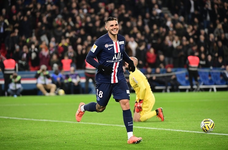 Mauro Icardi Hat Trick And Assist In Psg Win Vs St Etienne