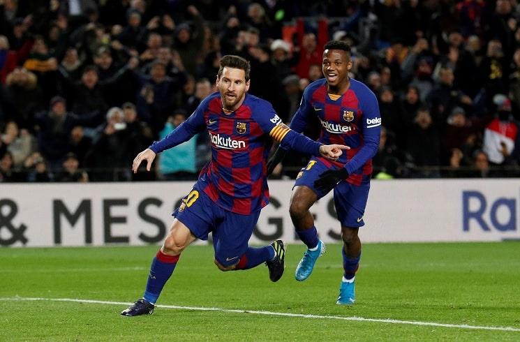 Lionel Messi Scores For Barcelona In Win Vs Granada Mundo Albiceleste