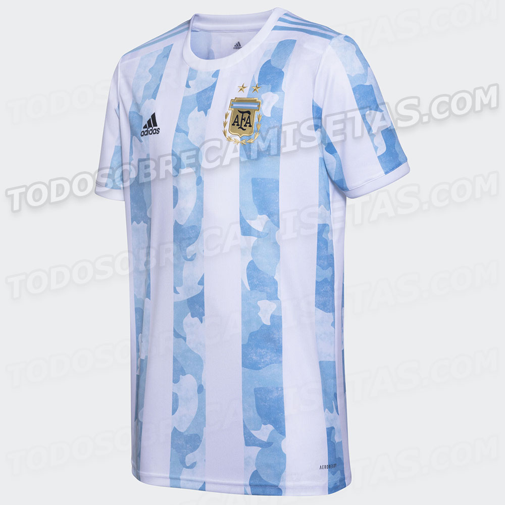 New Argentina 2020-2021 Copa America home shirt leaked   Mundo Albiceleste