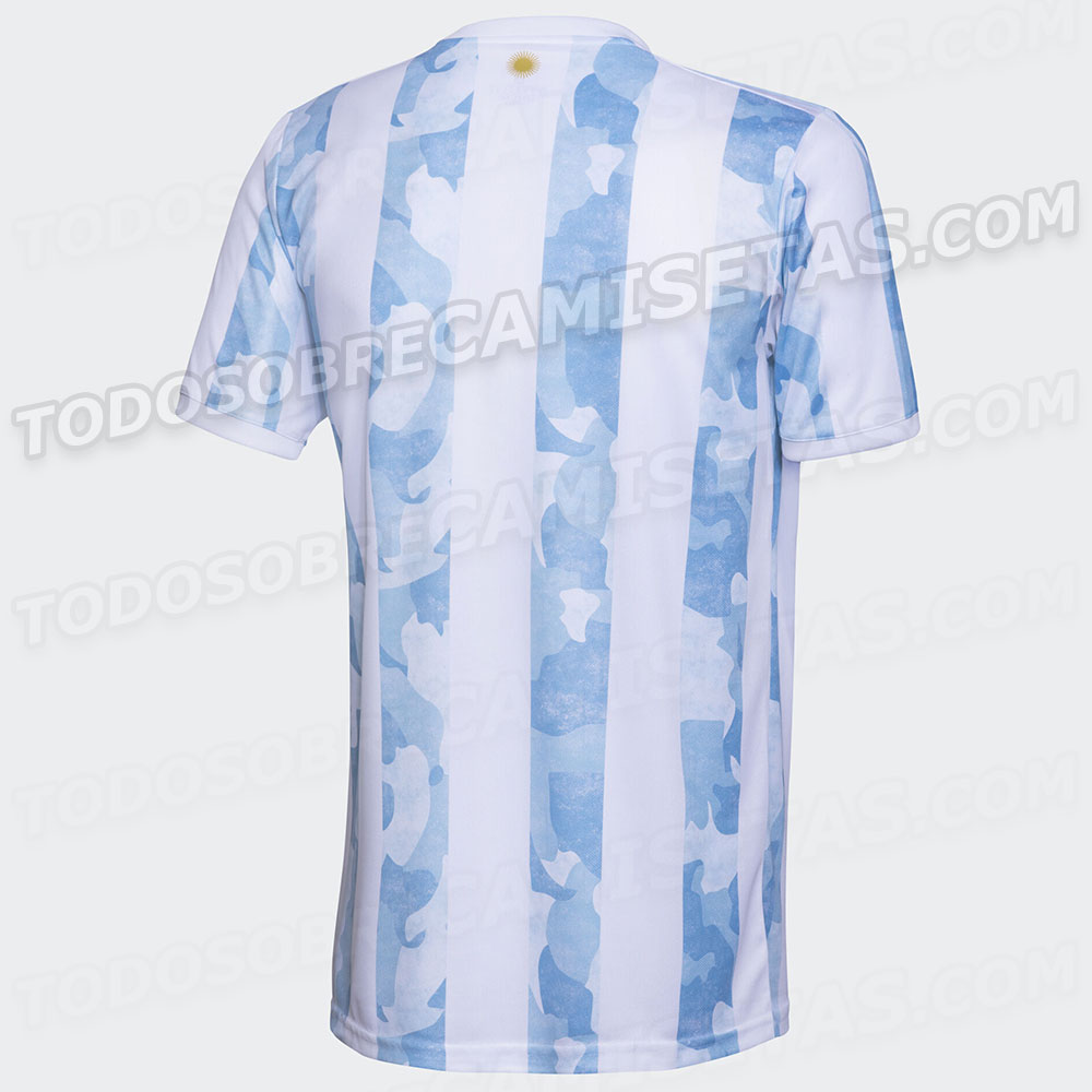 New Argentina 2020-2021 Copa America home shirt leaked Mundo