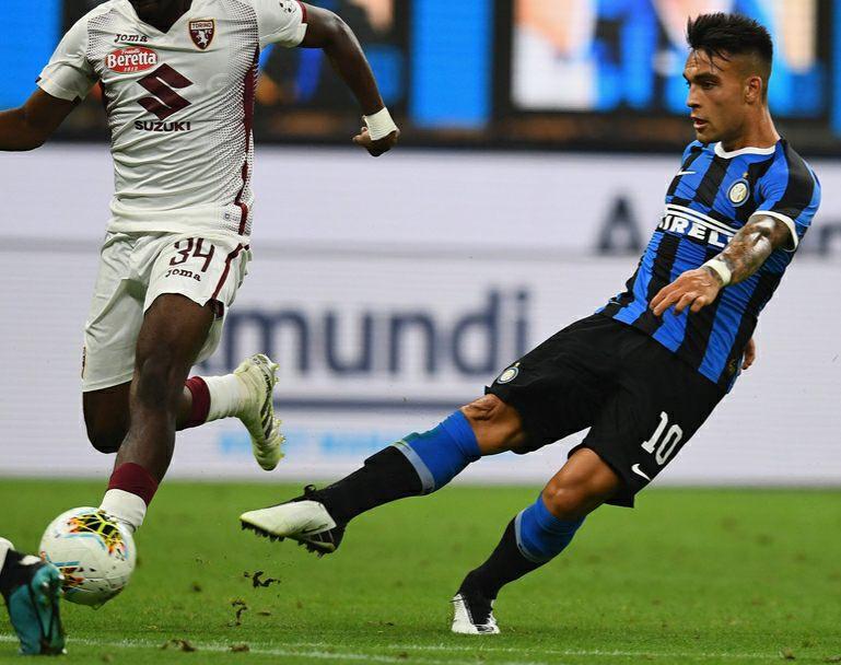 Lautaro Martinez Scores For Inter In 3 1 Win Vs Torino Mundo Albiceleste