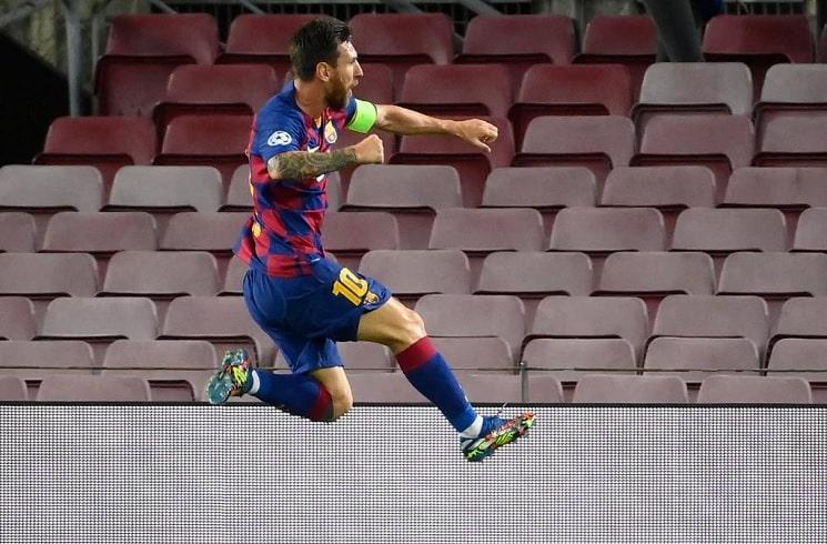Messi helps Barca to Uefa quarter-finals
