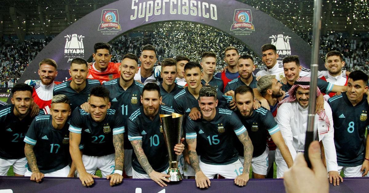 Argentina Possible Eleven Messi Dybala Ocampos Lautaro Mundo Albiceleste
