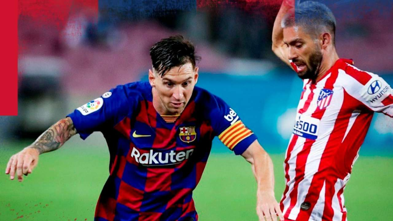 Lionel Messi And Barcelona Vs Diego Simeone S Atletico Tottenham More Mundo Albiceleste